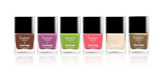 butter london nail lacquers rosequartz serenity pantone