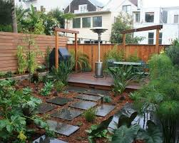 Backyard Pictures Ideas Landscape 137 Best Small U0026 Urban Backyard Images On Pinterest Gardens