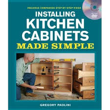 kitchen cabinets workshop installing kitchen cabinets made simple dvd gregory