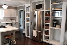 Custom White Kitchen Cabinets Excellent Hallway Cabinet With White Painted Wooden Cabinet With