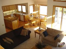 top open floor plan living room and kitchen cool and best ideas