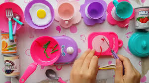 Kitchen Set Toys For Girls Cooking Toy For Children Kitchen Cooking Playset For Girls đồ