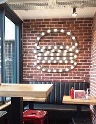 Top  Best Burger Restaurant Ideas On Pinterest Burger - Fast food interior design ideas