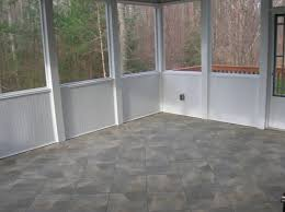 custom idea for tile in the porch floor and wall charming a