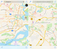 apple maps apple maps adds traffic data for singapore and malaysia