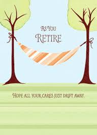 retirement card retirement hammock retirement card cardstore