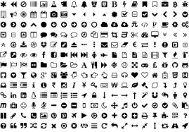 android symbol meanings what do all of those icons on websites apps
