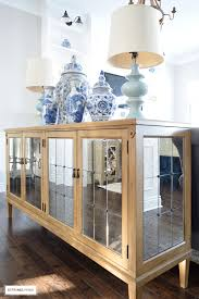 citrineliving our new antique mirrored buffet