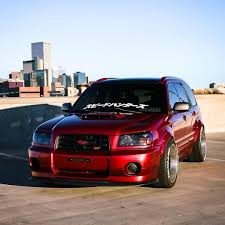 red subaru forester slammed rate it 0 99 looking for hundred members buy one from link in