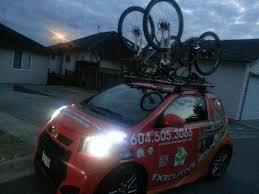 Ford Escape Bike Rack - scion iq w roof rack mtbr com