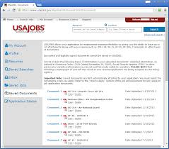 usajobs gov resume builder government job hq blog government job hq the usajobs gov site allows you to uploaded a total of 10 documents the screen capture above shows some example documents that a veteran might have