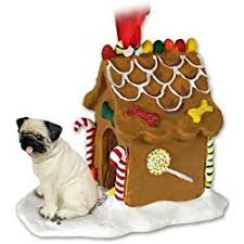 great gifts for pug ornaments