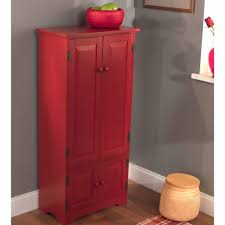 Free Standing Kitchen Pantry Furniture by Kitchen Pantry Cabinets Freestanding Red U2014 New Interior Ideas