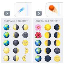 unicode 9 emoji updates ios 10 2 new emoji moon detail astronauts and comet replaced