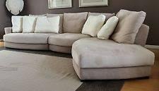 Suede Sectional Sofas Suede Sectional Sofas Loveseats Chaises Ebay