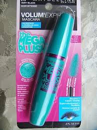 Mascara Maybelline Mega Plush review before after photos maybelline volum express the mega