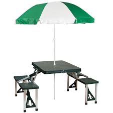 Patio Umbrella Table And Chairs by Portable Picnic Table Walmart Com