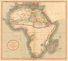 Africa Map Rivers Untitled Document