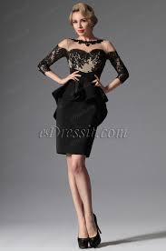 little black dresses cheap short black prom dresses edressit