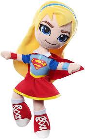 amazon dc super hero girls mini supergirl plush doll toys