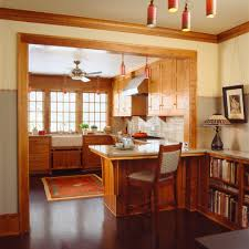 awesome red birch cabinets with double sink recessed lighting