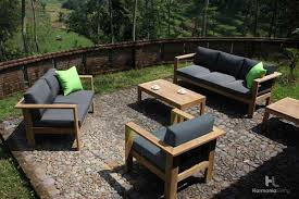Outdoor Furniture Set Magnificent Teak Wood Patio Furniture Set Designs U2013 How To Clean
