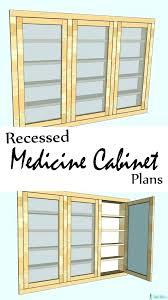 Recessed Medicine Cabinet Wood Door Medicine Cabinet Wood Medicine Cabinet Wood Recessed Stlouisco Me