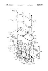 patent us5207426 controller for a game machine google patents