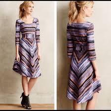 maeve clothing maeve dresses skirts kebren stripe knit dress by poshmark