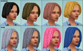 my sims 4 blog medium and long dreads unisex child to elder by