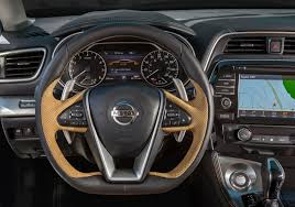 new nissan maxima all new 2016 nissan maxima brings futuristic look to sports sedan