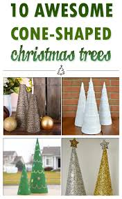 10 awesome cone shaped christmas trees