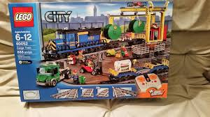 playing with bricks lego 60052 cargo train review