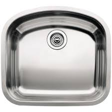 blanco wave undermount stainless steel 22 in single bowl kitchen blanco wave undermount stainless steel 22 in single bowl kitchen sink 440248 the home depot
