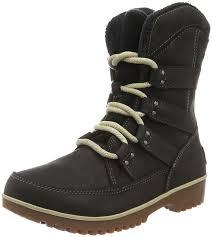 womens boots black sale sorel s meadow lace premium ankle boots black 010 s