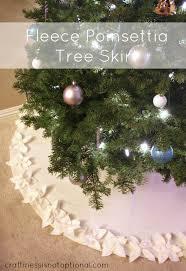 poinsettia tree poinsettia tree skirt tutorial