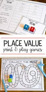 place value game base ten block review place values bingo and