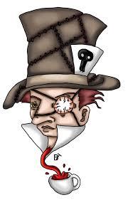 mad hatter tattoo art by brain twinge on deviantart