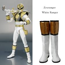 White Ranger Halloween Costume Aliexpress Buy Cosplay Boot Shoes Boots Cosplay