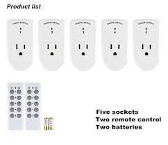 century wireless remote outlet switch power in for