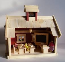 wooden toy country church play set gender neutral toy