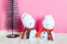 Diy Sock Snowman Clumsy Chic Easy Diy Sock Snowman
