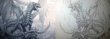 dragon by aenaluck on deviantart