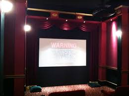 home theater curtain audio video home theatre design installation in seattle wa