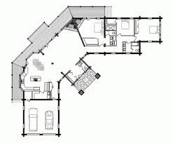 log cabin floor plan loft