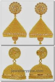 design of earrings gold earring gold jewellery designs jewellery expo
