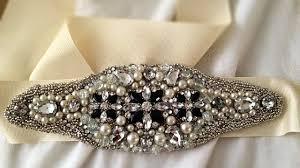 make a bridal inspired embellished belt diy style