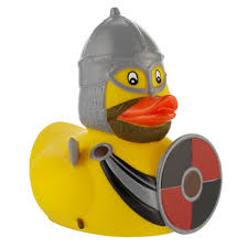viking rubber duck at museum shop