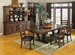 western rustic dining room sets design u2014 all home ideas and decor