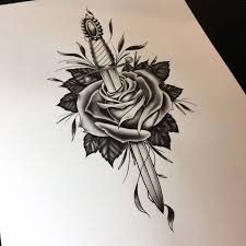 25 gorgeous rose and dagger ideas on pinterest rose and dagger
